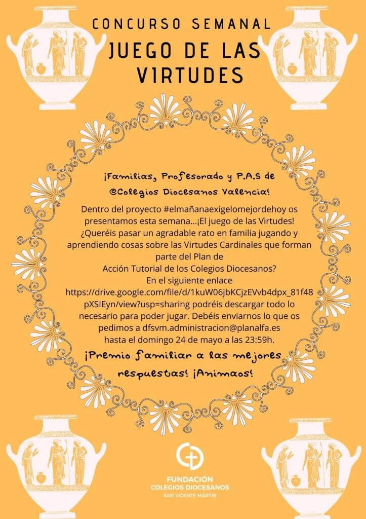 Cartel Virtudes completo