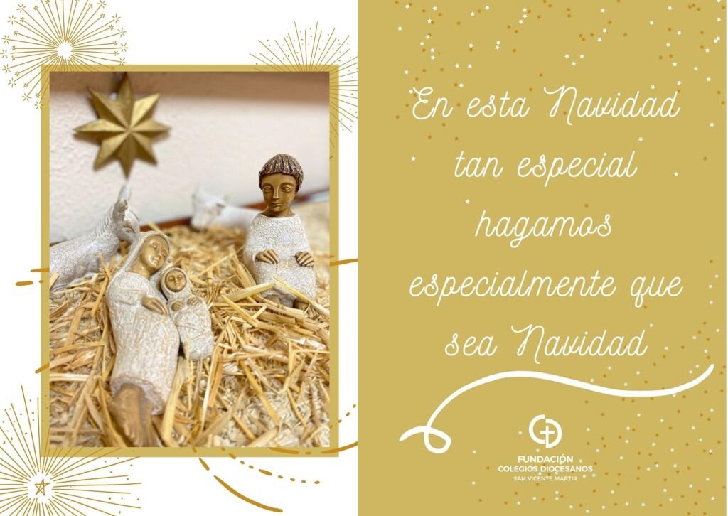 En esta Navidad tan especial hagamos especialmente que sea Navidad